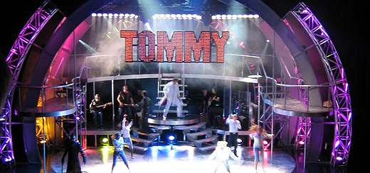 Tommy on stage, Edinburgh festival theatre